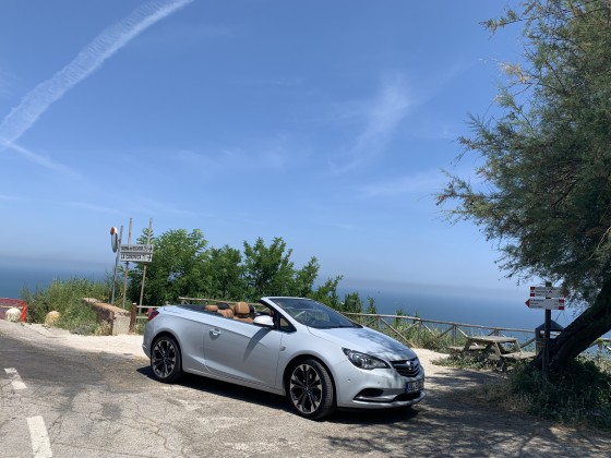 Via Panoramica zwischen Rimini und Cattolica