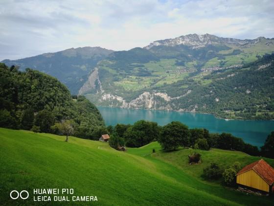 Der Walensee in der Schweiz